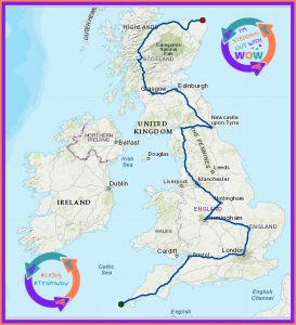 #LeJog #TeamWow join us women out west 2000kms