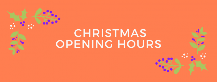 christmas opening hours WOMEN OUT WEST